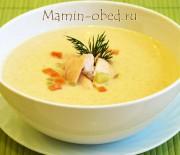 Суп-пюре из лосося