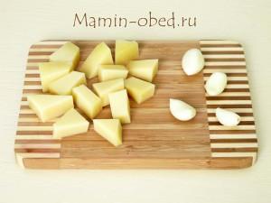 сыр + чеснок