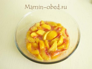 персике в сиропе