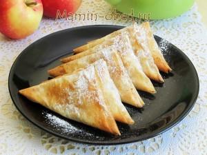 яблочные треугольники