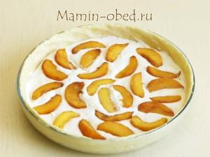 раскладываем персики