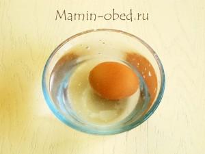 охлаждаем яйцо