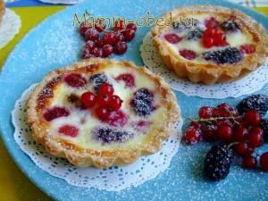 ягодные тарталетки