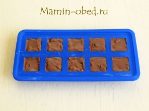 закрываем шоколадом