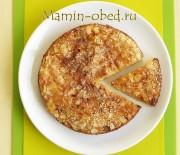 Яблочный пирог с грушами под хрустящей корочкой