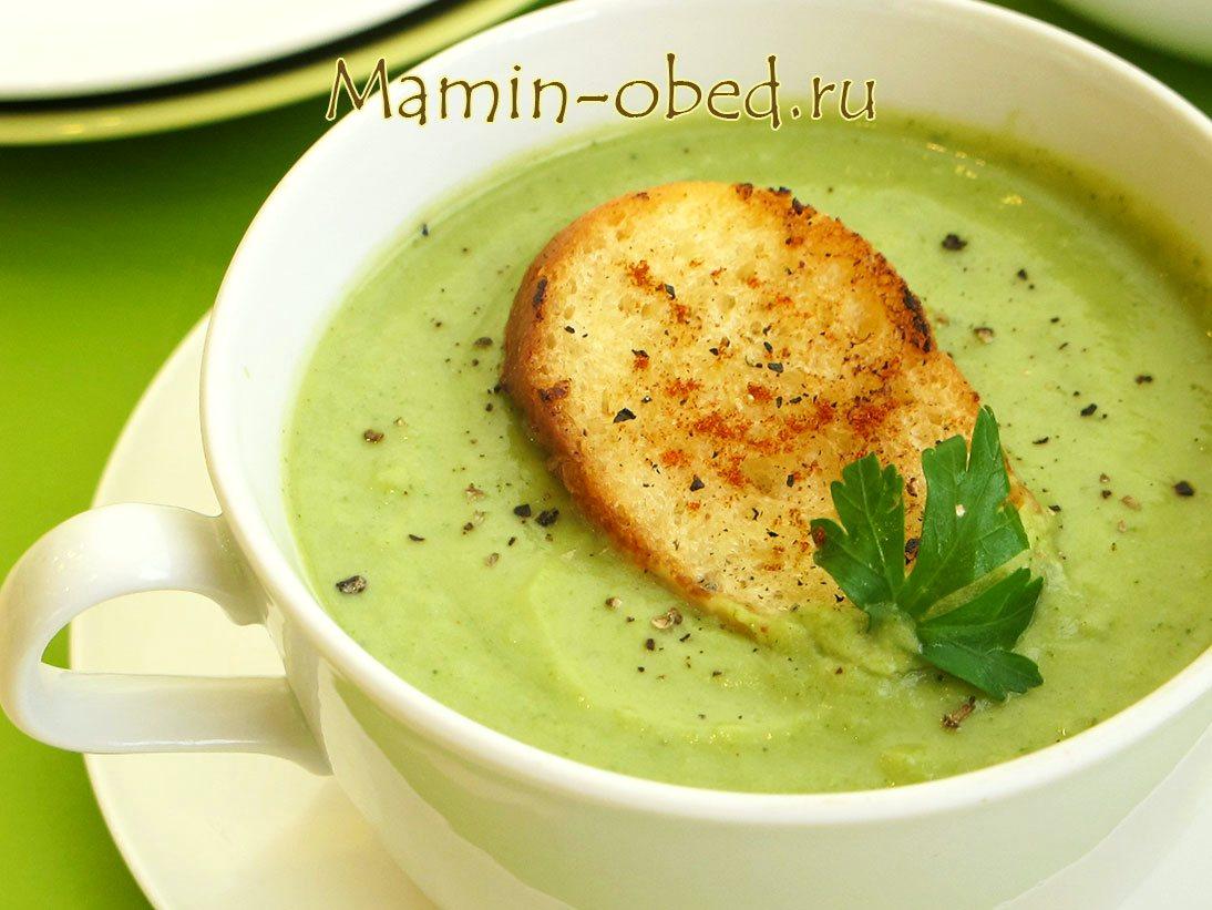 Суп-пюре из брокколи рецепты пошаговый рецепт
